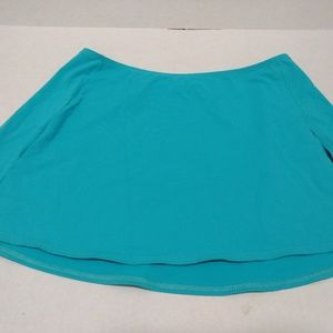 🍍La Blanco Bikini Skirt Cover Up Teal SZ Small